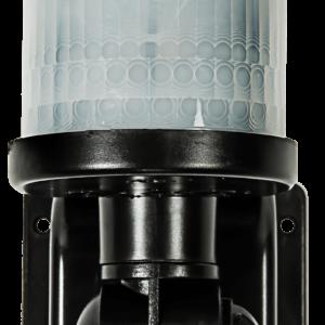 Датчик движения инфракрасный ДД-018-W (B) 1200ВТ 220 ° 12м, IP44 Белый, Черный
