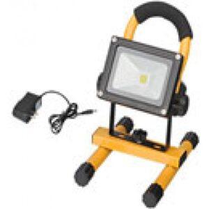 Светодиодный прожектор на аккумуляторе 10W