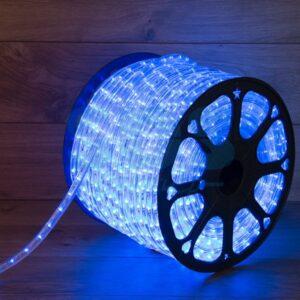 121-323 Дюралайт LED, свечение с динамикой (3W) – синий, бухта 100м