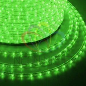 121-324 Дюралайт LED, свечение с динамикой (3W) – зеленый, 36 LED/м, бухта 100м