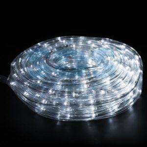 121-325-06 Дюралайт LED, свечение с динамикой (3W), 24 LED/м, белый, 6м