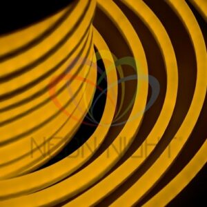 131-021 Гибкий Неон LED – желтый, оболочка желтая, бухта 50м