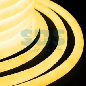 131-031 Гибкий Неон LED 360 (круглый) – желтый, бухта 50м