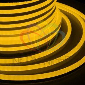 131-051 Гибкий Неон LED SMD, жёлтый, 120 LED/м, бухта 50м