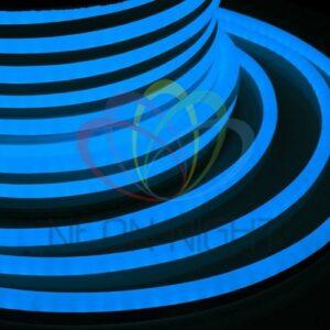 131-023 Гибкий Неон LED – синий, оболочка синяя, бухта 50м