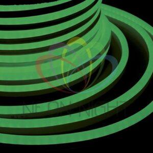 131-024 Гибкий Неон LED – зеленый, оболочка зеленая, бухта 50м