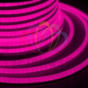 131-037 Гибкий Неон LED 360 (круглый) – розовый, бухта 50м