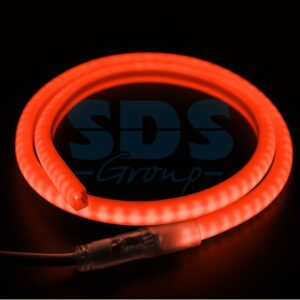 131-072 Гибкий Неон LED SMD, форма – D, красный, 120 LED/м, бухта 100м
