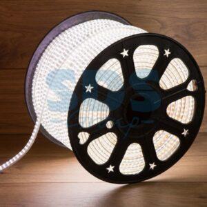 142-803 LED Лента 220В, 6.5×15мм, IP67, SMD 3014, 240 LED/м, Белый, 100м