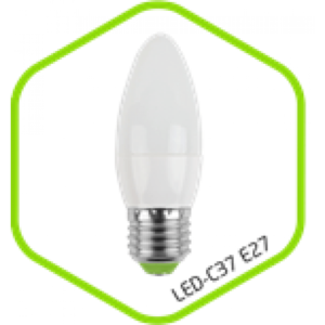 Лампа светодиодная LED-СВЕЧА-standard 3.5Вт 160-220В Е27 320Лм