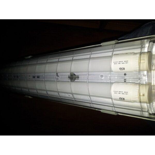 Светильник влагозащищенный светодиодный аналог ЛСП 2х18 IP65 20W