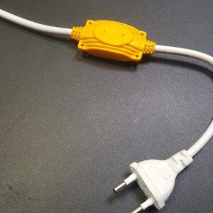 Сетевой шнур для неона NL S20, 220V (120 диодов на метр)