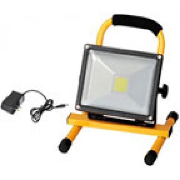 Светодиодный прожектор на аккумуляторе 20W