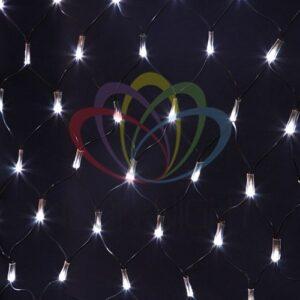 "215-115 Гирлянда ""Сеть"" 1х1,5м, черный ПВХ, 160 LED Белый"