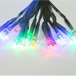 "215-139 Гирлянда ""Сеть"" 1, 8х1, 5м, прозрачный ПВХ, 180 LED Мультиколор"