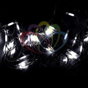 """315-141 Гирлянда модульная """"Дюраплей LED"""" 20м 200 LED белый каучук Желтая"""