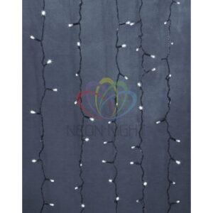 """235-465 Гирлянда """"Светодиодный Дождь"""" 2х6м, эффект водопада, прозрачный провод, 24В, диоды БЕЛЫЕ, 360 LED"""