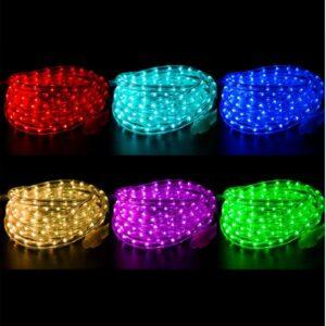 121-329-06 Дюралайт LED, свечение с динамикой (3W), 24 LED/м, МУЛЬТИ (RYGB), 6м