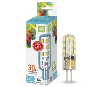 Светодиодная (LED) Лампа Smartbuy-G4-3.5W/3000,4000