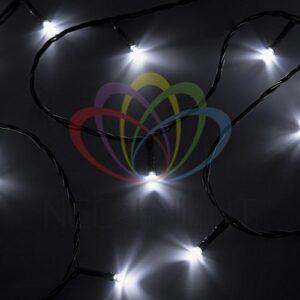 """303-015 Гирлянда """"Твинкл Лайт"""" 4 м, темно-зеленый ПВХ, 25 LED, цвет белый"""