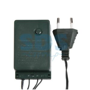 """303-045 Гирлянда """"Твинкл Лайт"""" 10 м, темно-зеленый ПВХ, 80 LED, цвет белый"""
