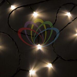 """303-056 Гирлянда """"Твинкл Лайт"""" 15 м, темно-зеленый ПВХ, 120 LED, цвет теплый белый"""