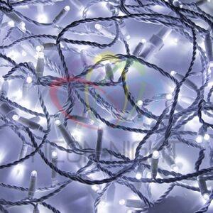 """315-125 Гирлянда модульная """"Дюраплей LED"""" 20м 200 LED белый ПВХ, Белая 24В"""