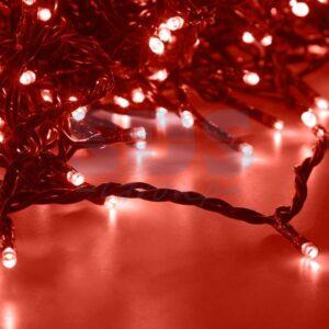 """323-502 Гирлянда """"LED ClipLight"""" 24V, 5 нитей по 20 метров, цвет диодов Красный"""