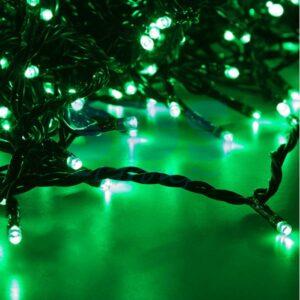 """323-504 Гирлянда """"LED ClipLight"""" 24V, 5 нитей по 20 метров, цвет диодов Зеленый"""