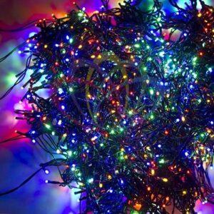 """323-509 Гирлянда """"LED ClipLight"""" 24V, 5 нитей по 20 метров, цвет диодов Мульти"""