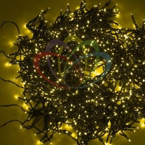 """323-601 Гирлянда """"LED ClipLight"""" 24V, 5 нитей по 20 метров, цвет диодов Желтый, Flashing (Белый)"""