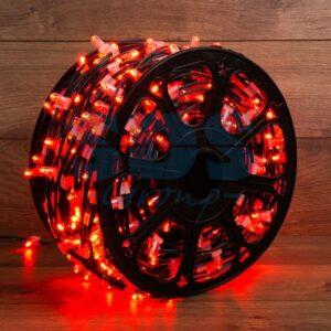 """325-122 Гирлянда """"LED ClipLight"""" 12V 150 мм, цвет диодов Красный"""