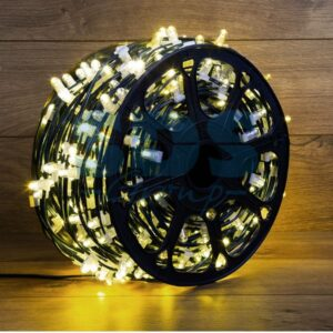 "325-146 Гирлянда ""LED Clip Light"" 12V шаг 150 мм, цвет диодов Тепло-Белый, Flashing (Белый)"