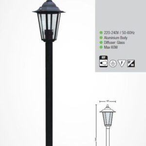 Садово-парковый светильник E27 ERGUVAN-4 HL270M