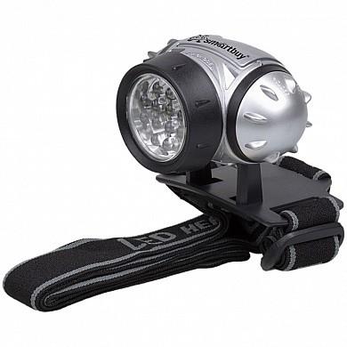 Светодиодный налобный фонарь 21 LED Smartbuy, черный
