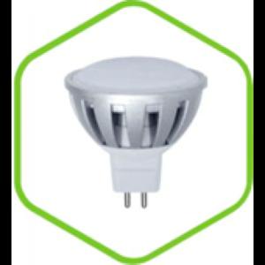 Лампа светодиодная LED-JCDR-standard 3.0Вт 220В GU5.3 290Лм