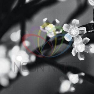 """531-125 Светодиодное дерево """"Сакура"""", выстота 2,4м, диметр кроны 2,0м, белые светодиоды, IP 54, понижающий трансформатор в комплекте, NEON-NIGHT"""