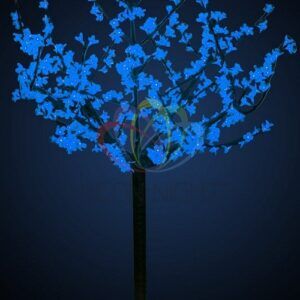 """531-303 Светодиодное дерево """"Сакура"""", высота 1,5 м, диаметр кроны 1,3м, синие диоды, IP 44, понижающий трансформатор в комплекте, NEON-NIGHT"""