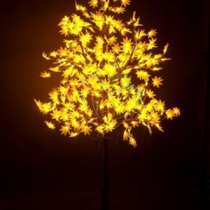"""531-511 Светодиодное дерево """"Клён"""", высота 2,1м, диаметр кроны 1,8м, желтые светодиоды, IP 65, понижающий трансформатор в комплекте, NEON-NIGHT"""