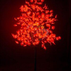 """531-512 Светодиодное дерево """"Клён"""", высота 2,1м, диаметр кроны 1,8м, красные светодиоды, IP 65, понижающий трансформатор в комплекте, NEON-NIGHT"""
