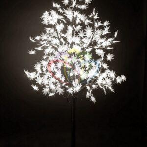 """531-515 Светодиодное дерево """"Клён"""", высота 2,1м, диаметр кроны 1,8м, белые светодиоды, IP 65, понижающий трансформатор в комплекте, NEON-NIGHT"""
