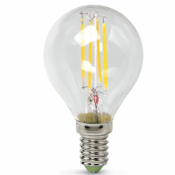 Лампа светодиодная LED-ШАР-PREMIUM 5Вт 220В Е14 450Лм прозрачная