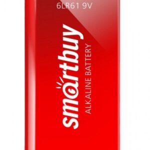 Батарейка алкалиновая Крона Smartbuy 6LR61/1B (12/240) (SBBA-9V01B)