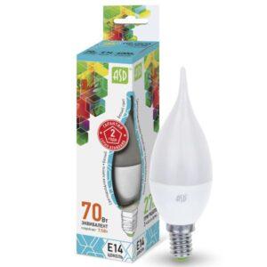 Лампа светодиодная LED-СВЕЧА НА ВЕТРУ-standard 5 Вт 220В Е14 450Лм