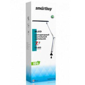 Светодиодный наст. светильник (LED) Smartbuy-7W/NWFix/Sil