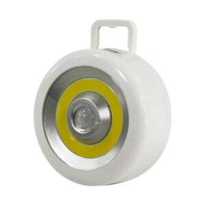Светодиодный фонарь с датчиком движения и света 3 Вт COB, 3*AA