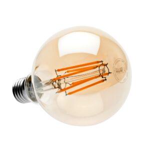 Светодиодная лампа G95 Е27 8Вт Димируемая Маяк