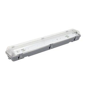 Корпус влагозащищенный IP65 по светодиодную лампу Т8 (Аналог ЛСП 2х18)