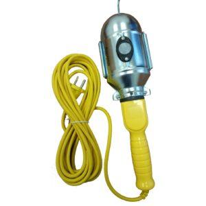 Светильник переноска, цоколь Е27, с проводом 10м и неодимовым магнитом