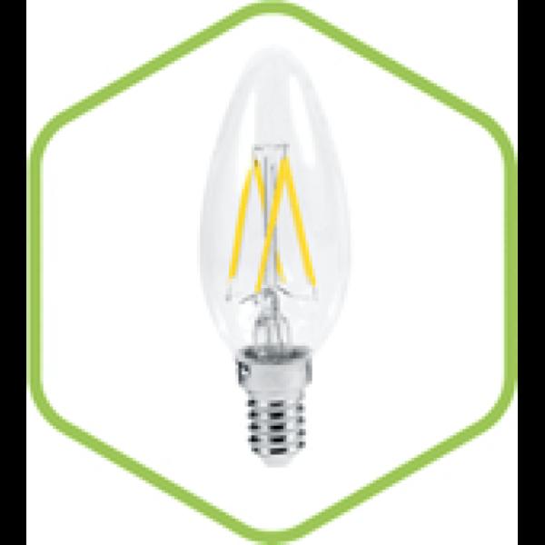 Лампа светодиодная LED-СВЕЧА-PREMIUM 5.0Вт 220В Е27 450Лм